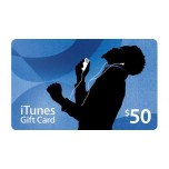 iTunes Gift card 50$